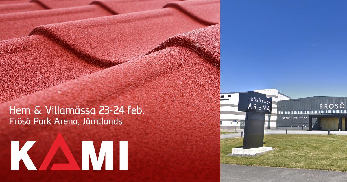 Kami på Jämtlands Hem & Villamässa 23-24 februari