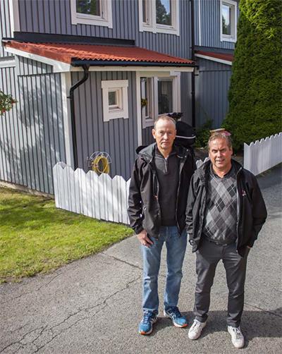 Ove Wengfelt och Magnus Widmark