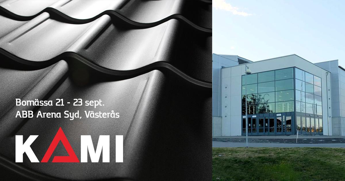 Kami i Västerås Bomässa 21-23 september